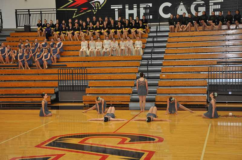 SUBMITTED PHOTO - Junior Pacers get ready to wow the crowd.