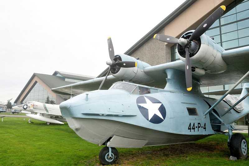 GARY ALLEN - Preserved? - This Consolidated PBY Catalina is not among the 15 aircraft at Evergreen Aviation & Space Museum that could be sold if an undisclosed buyer is not allowed to bail out Evergreen Vintage Aircraft.