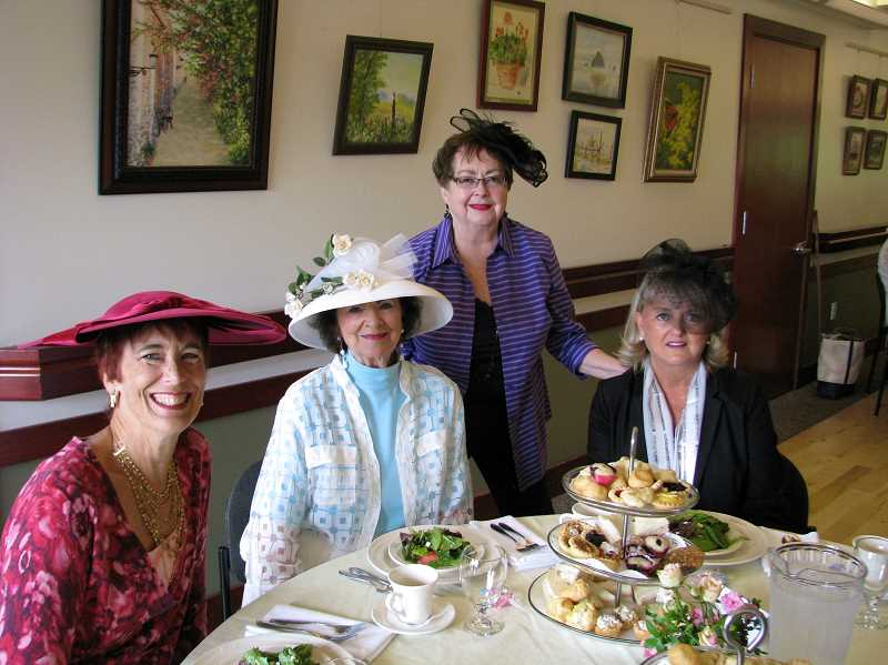 SUBMITTED PHOTO - A prize will be awarded to the person wearing the most outstanding hat at the Mothers Day Tea to be held May 4.