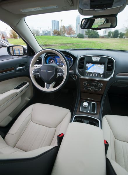 2015 chrysler 300 interior. tribune photo john m vincent the 2015 chrysler 300 features an interior thatu0027s more sophisticated than anything in its price class with quality