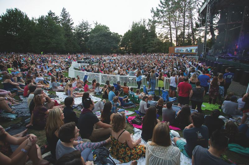 CONTRIBUTED PHOTO: KATHLEEN NYBERG - Fans will fill the ampitheater at Edgefield this summer for such acts as Steve Miller, The Decemberists and Wilco.