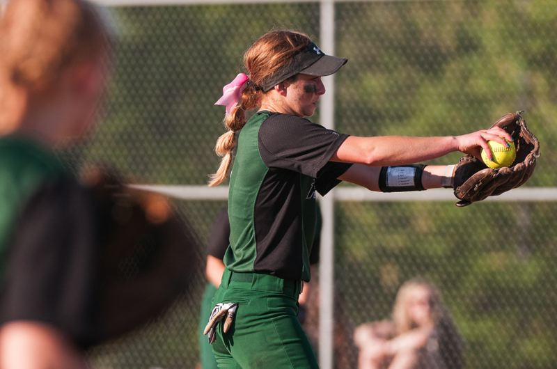 Reynolds pitcher Cheyenne Vance winds up in the seventh inning.