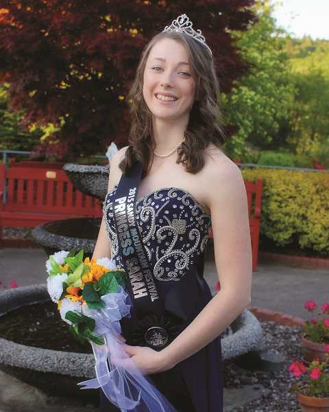 POST PHOTO: KYLIE WRAY - Sarah Rutledge, 20, was nominated and voted Third Princess on the 2015 Five Generation Court.