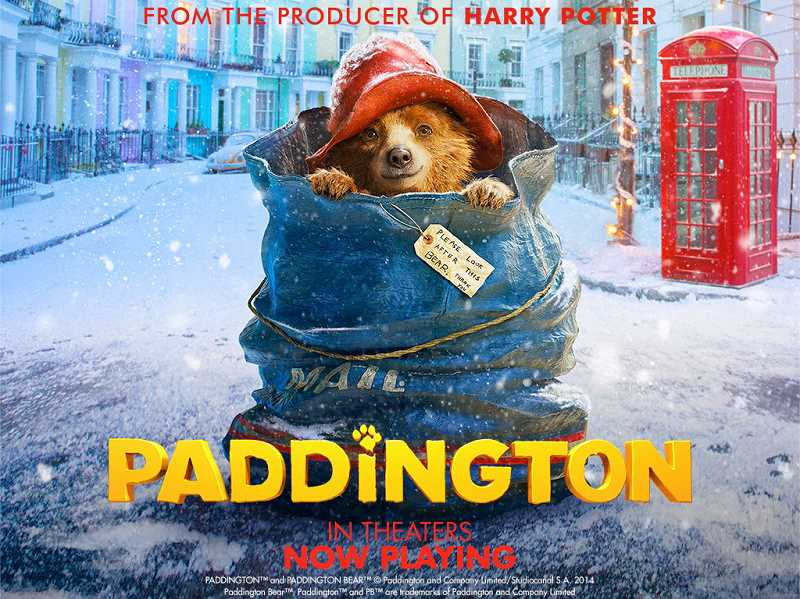 SUBMITTED PHOTOS - Paddington is the first of West Linns Movies in the Park. It will be shown Friday at Robinwood Park at dusk, about 8:30 p.m.