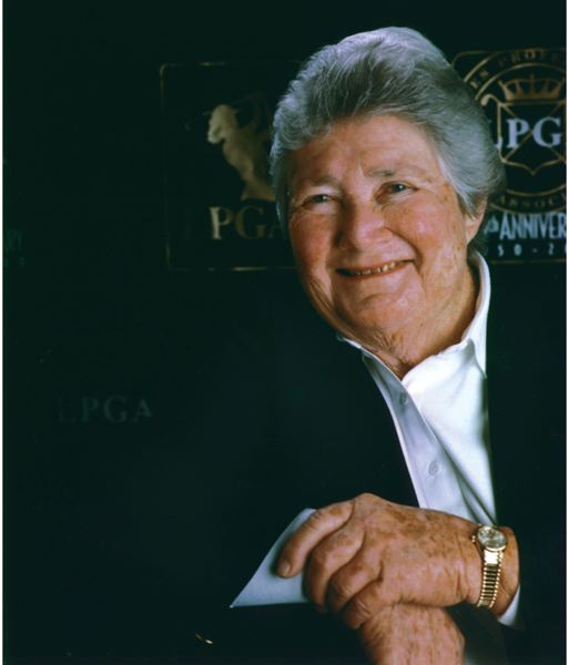 COURTESY: LPGA - Louise Suggs, one of the greatest women's golfers of all-time and a driving force behind the LPGA Tour, died Aug. 7 at age 91.