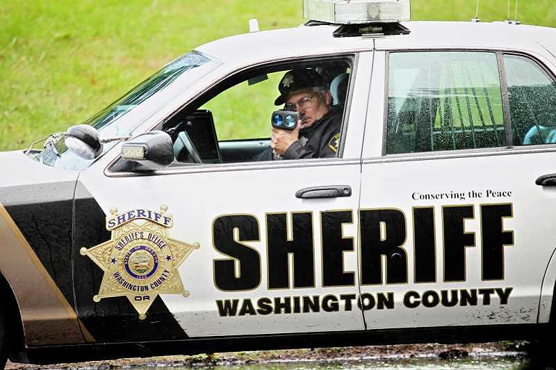 TIMES PHOTO: JAIME VALDEZ - Tigard Police and the Washington County Sheriff's office are planning extra patrols over the weekend to catch drunken drivers partying during Labor Day celebrations.