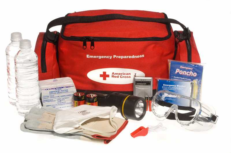 SUBMITTED PHOTO - A well-stocked emergency preparedness kit can mean the difference between life and death after a disaster.