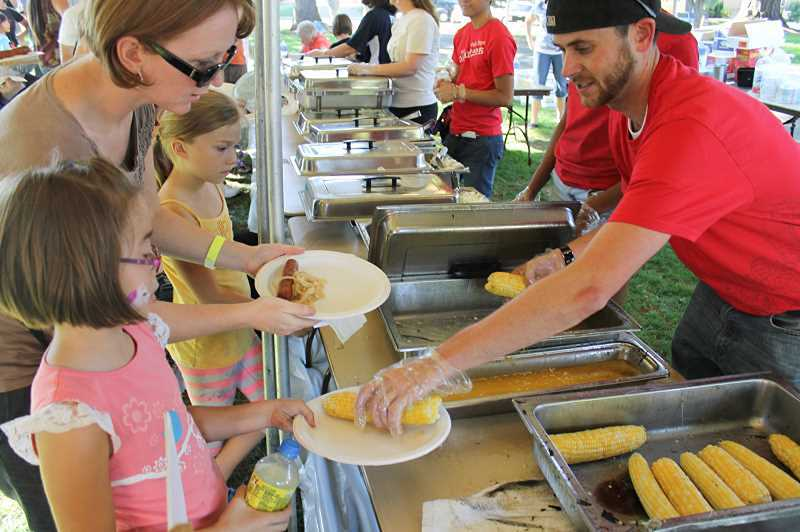 NEWS-TIMES FILE PHOTO - Come on over to Pacific University Saturday afternoon for good corn, good fun and good company at the annual Forest Grove Corn Roast.