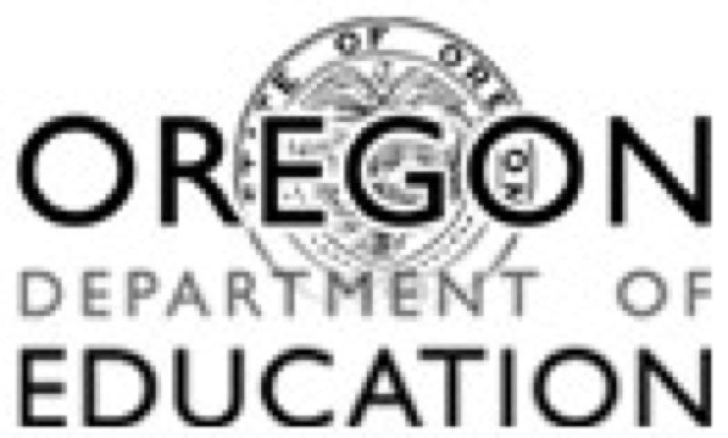 (Image is Clickable Link) OREGON DEPARTMENT OF EDUCATION  - The logo for the Oregon Department of Education