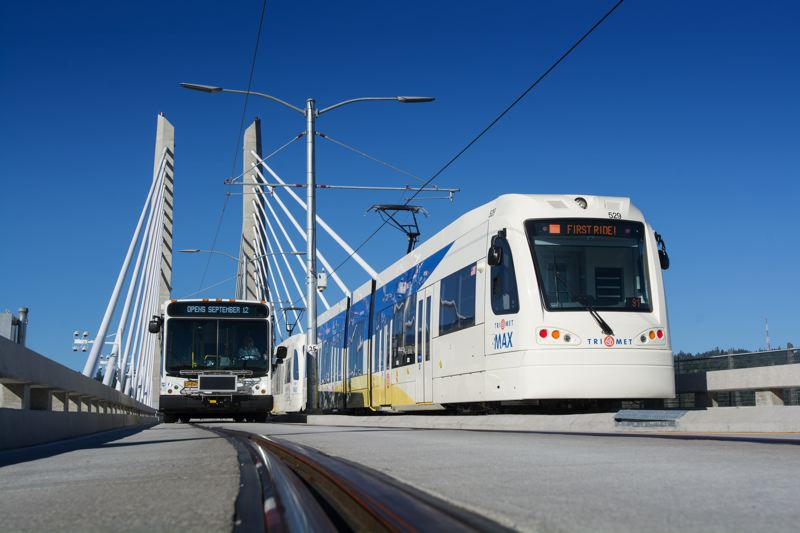 PORTLAND TRIBUNE FILE PHOTO - After finishing the MAX Orange Line and Tilikum Crossing, TriMet is pushing the region to rebuild the Columbia River bridge to Vancouver and expand light rail there.