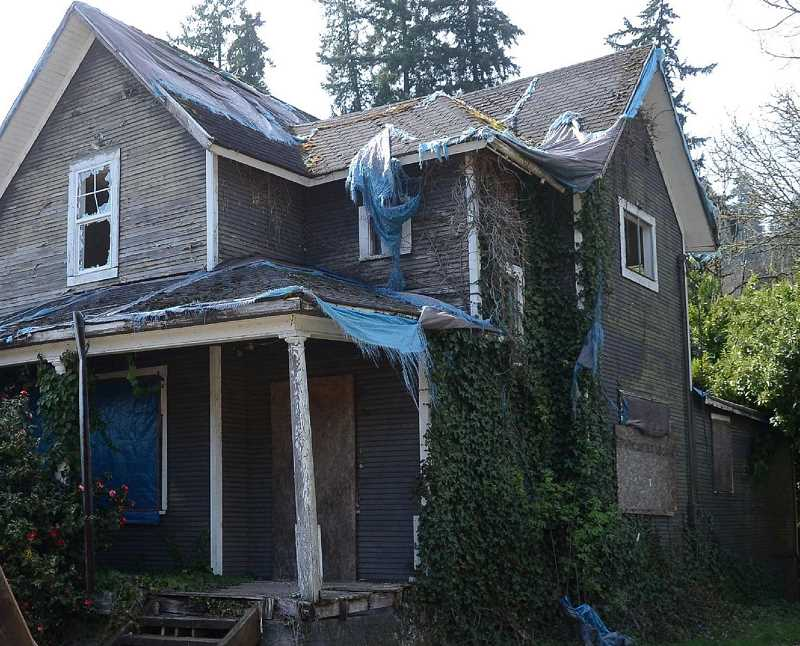 PAMPLIN MEDIA FILE PHOTO - Unless they've been retrofitted, older homes are typically not bolted to their foundation in a manner that would hold up in the case of an earthquake.