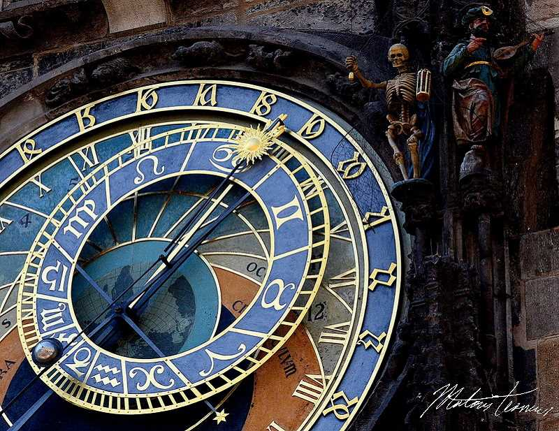 SUBMITTED PHOTO: MATOUS KOMERS - The Prague astronomical clock is the third-oldest astronomical clock in the world, and the only such clock left that still functions.