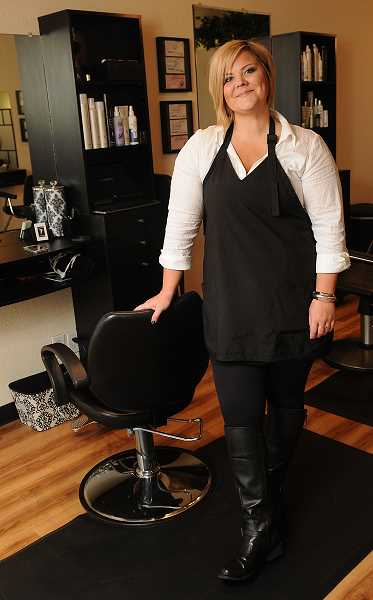 Oregon local news studio 77 salon focuses on pampering for 77 salon portland