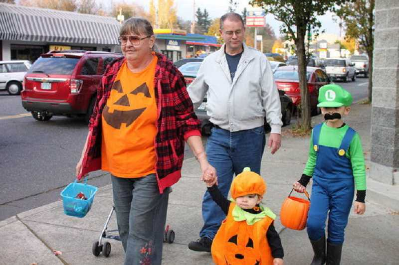 Families are expected to flock to downtown Tigard this Friday for the area's annual Trick-Or-Treat event.