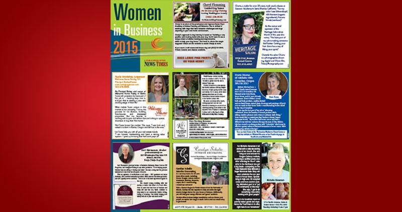 (Image is Clickable Link) WOMEN IN BUSINESS Forest Grove 2015