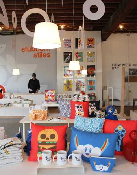 COURTESY: PORTLAND BUSINESS ALLIANCE - Stubborn Stiles is one of four holiday pop-up shops this year, all located in Old Town/Chinatown and open through Christmas eve.