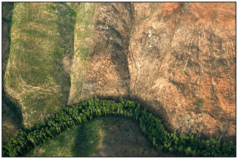 COURTESY OF OREGON STREAM PROTECTION COALITION - This aerial shows the Smith River along the Oregon Coast.