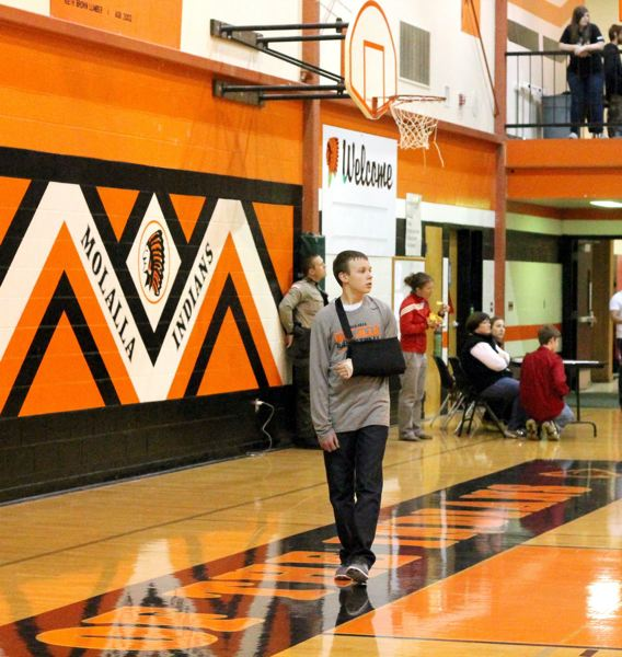 PAMPLIN MEDIA GROUP FILE PHOTO - Molalla's mascot, the Indians, is one of several Native American mascots that might have to change under new state education board rules.