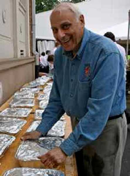 REVIEW PHOTO: VERN UYETAKE - Gene Wizer was a longtime member of the Lake Oswego Rotary Club, where he often worked behind the scenes on events like the annual Lobster Feed.