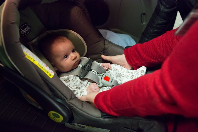 Pamplin Media Group - New research: Virtually no one uses car seats