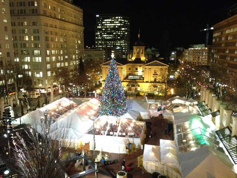 COURTESY: HOLIDAY ALE FESTIVAL  - This year's Holiday Ale Festival drew 14,000 beer lovers to Pioneer Courthouse Square. The annual event is the Pacific Northwest's only winter beer festival.