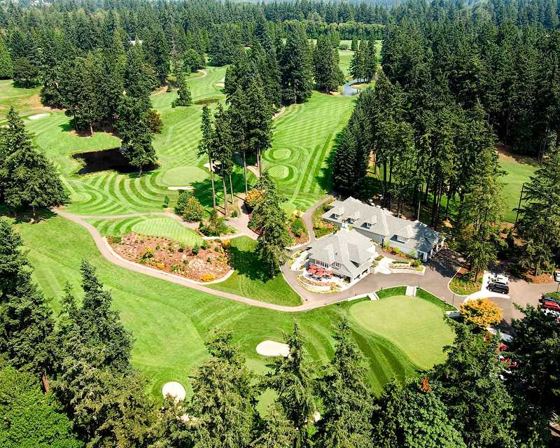 SUBMITTED PHOTO - Oswego Lake Country Club has applied for a Type II permit to remove 198 trees from its Lake Oswego property. An additional 56 invasive trees also would be cut down.