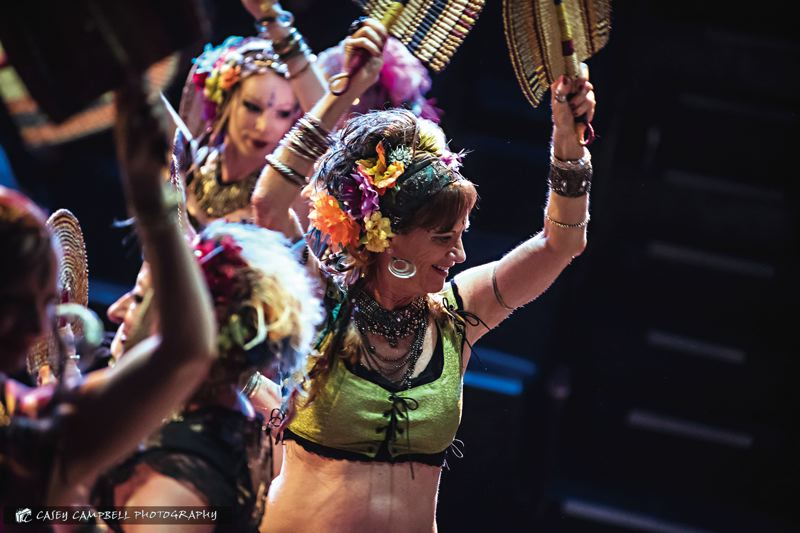 COURTESY: CASEY CAMPBELL - Groovin Greenhouse, part of upcoming Fertile Ground, features the Portland Bellydance Guild with Gypsy Heart Tribal, directed by Carol Vance.