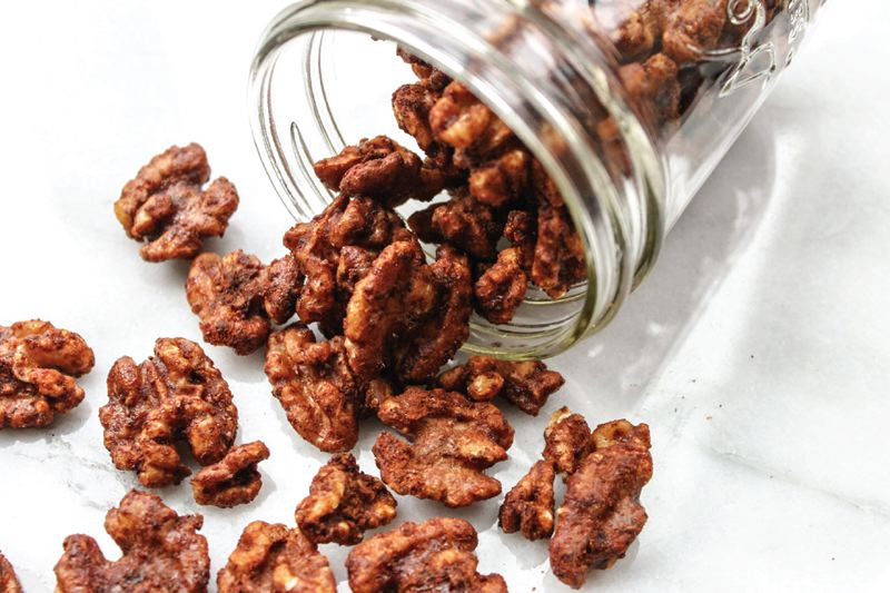 COURTESY: MEGAN LANDRUM - Sweet and Spicy Walnuts