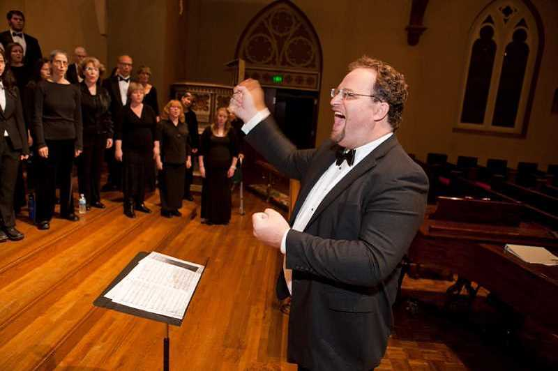 SUBMITTED PHOTO - Roomful of Teeth will perform with the Marylhurst Chamber Choir, conducted by Dr. Justin Smith, director of Choral Activities at Marylhurst.