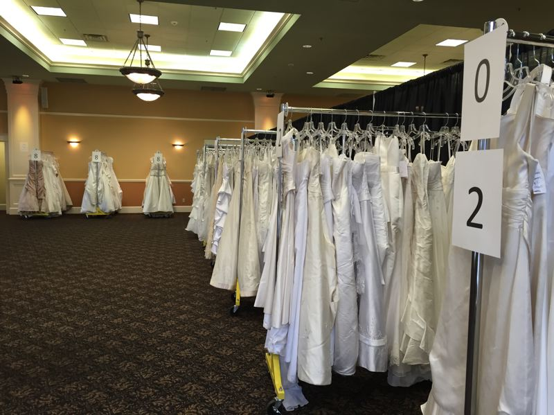 COURTESY: BRIDES FOR A CAUSE  - Brides for a Cause, a local nonprofit, holds an annual event that keeps bridal gowns -- worn only once in a lifetime -- in circulation for others to enjoy.