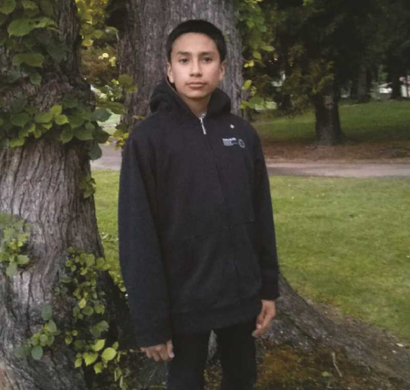 INDEPENDENT FILE PHOTO - Juan Robles was killed on Oct. 21, 2014, when he wandered away from school and was hit by an Amtrak train outside Gervais.