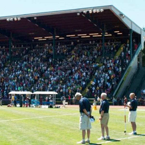 COURTESYB TRACKTOWN USA - Hayward Field will be the site of the 2021 IAAF track and field world championships. State officials say a public $45 million investment in the event would produce more than $550 million in economic activity.