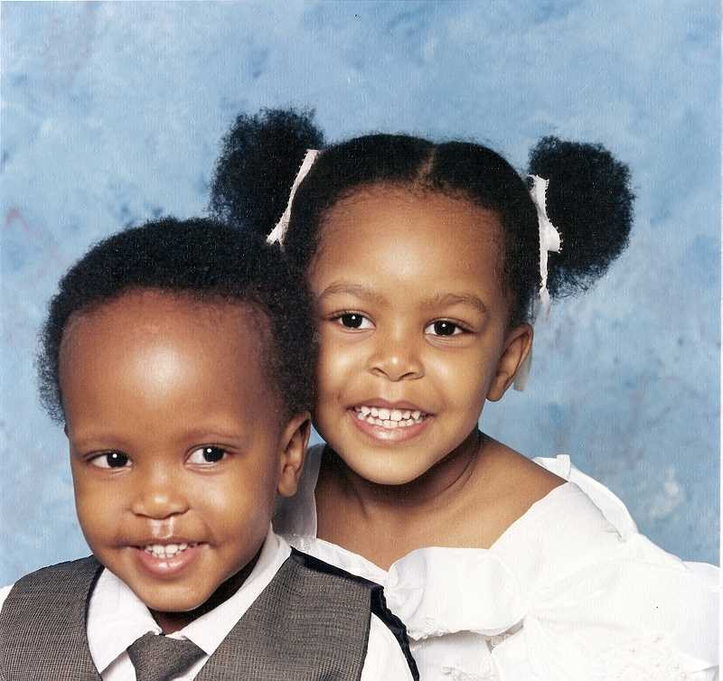 COURTESY PHOTO - From a young age, Murimi and Karimi learned to value hard work and to take advantage of opportunities.