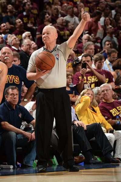 COURTESY: NBA PHOTOS - Veteran NBA referee Joey Crawford hopes to return from knee surgery in time to finish his 39th season.