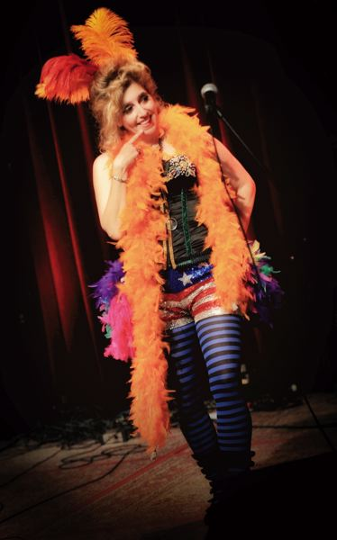 COURTESY: MIRI STEBIVKA/MIROFOTO - Miz Kitty leads a song, dance and comedy show at Alberta Rose Theatre, Jan. 9.