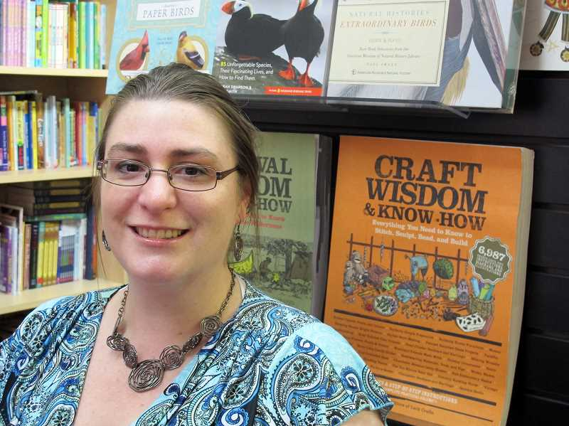 HILLSBORO TRIBUNE FILE PHOTO - Tina Jacobsen opened her bookstore on Main Street in Hillsboro in 2010, but will close her doors in February.