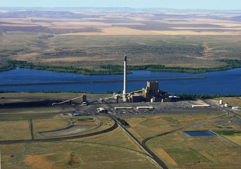 COURTESY PGE - PGE's Boardman coal plant is slated to close in 2020. The utility, along with Pacific Power, agreed to stop selling coal power in Oregon by 2035, in a potentially landmark deal with environmentalists reached Wednesday.