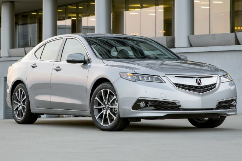 AMERICAN HONDA MOTOR COMPANY - The 2016 Acura TLX is sharply styled, not too big on the outside, but surprsiingly roomy inside.