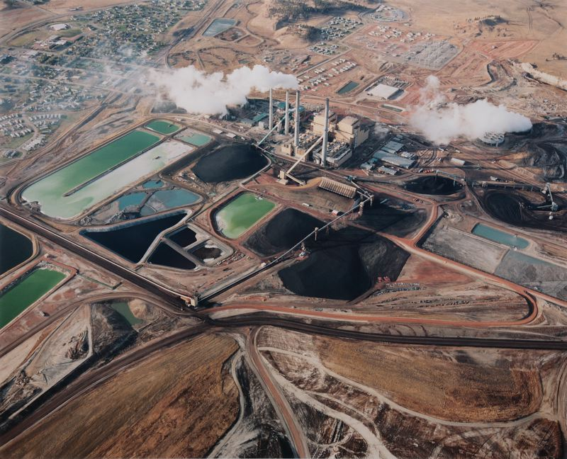 PHOTO COURTESY OF DAVID HANSON - A 2008 aerial photo shows the Colstrip coal plant in Montana; PGE is a minority owner of the plant.