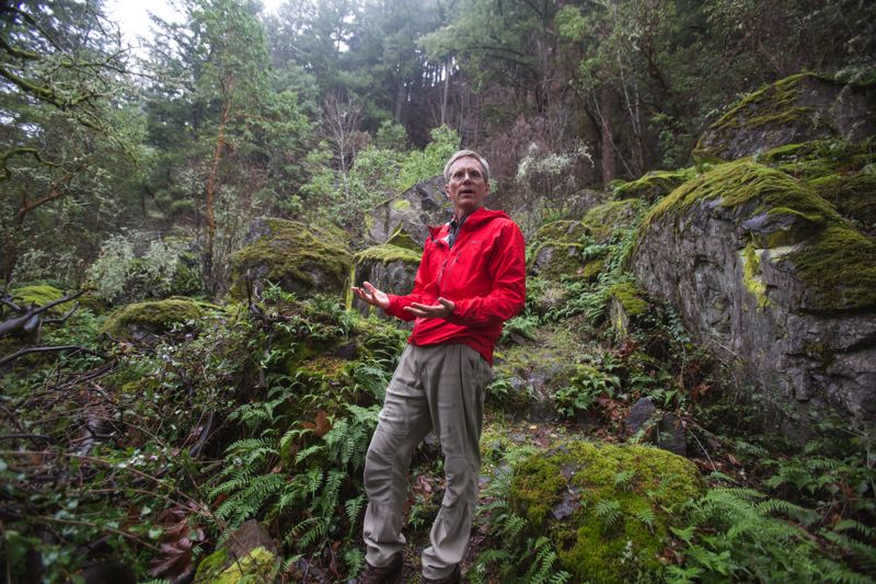 PAMPLIN MEDIA GROUP: JONATHAN HOUSE - Keith Daellenbach has been leading the Madrone Wall Preservation Committee for more than a decade. Clackamas County finally has agreed to turn the rock-climbing area into an official park.