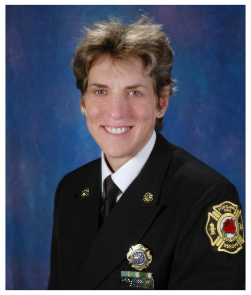 Portland Fire Chief Erin Janssens says she plans to retire in April. She has been with the fire bureau for 28 years.