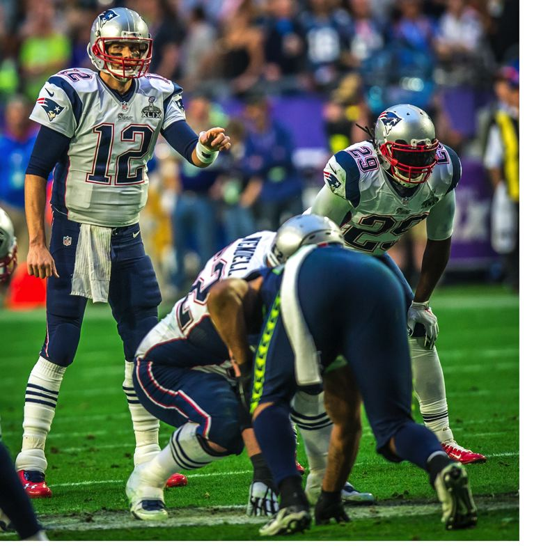 TRIBUNE FILE PHOTO: MICHAEL WORKMAN - Tom Brady of the New England Patriots ranks high on the NFL all-time list in several key categories.