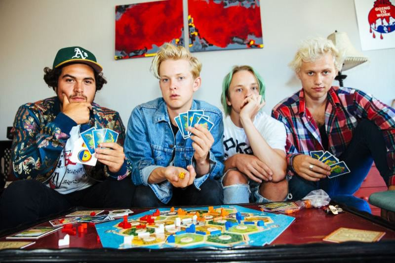 COURTESY: ALICE BAXLEY - SWMRS brings its surf rock and skater punk to Hawthorne Theatre Lounge, Jan. 20.