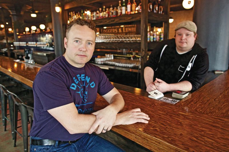 TRIBUNE PHOTO: JONATHAN HOUSE - ChefStable owner Kurt Huffman has experimented with trying to narrow the gap between the highest and lowest paid employees at his restaurants as Portland confronts a growing income inequality among its residents.