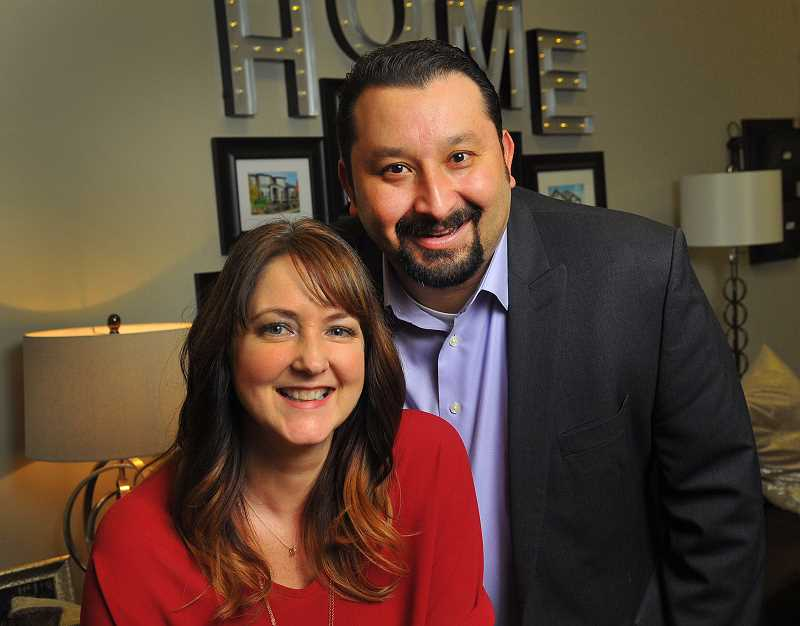 SPOKESMAN PHOTO: VERN UYETAKE - Realtors Sherine and Jaimy Beltran earned accolades even during the recession, but struggled to make ends meet. They have been finding ways to give back since the economy began to improve.