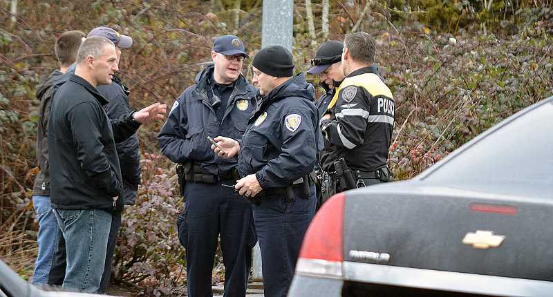 TIMES PHOTO: GEOFF PURSINGER - Police have released the name of the officer involved in the fatal shooting of a Beaverton taxi driver on Saturday. Officers said the man rushed at them with a model gun in his hand.