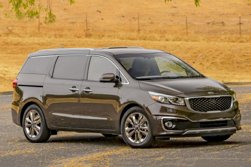 Kia Motors America With Its Bold Styling The 2016 Sedona Looks More Like