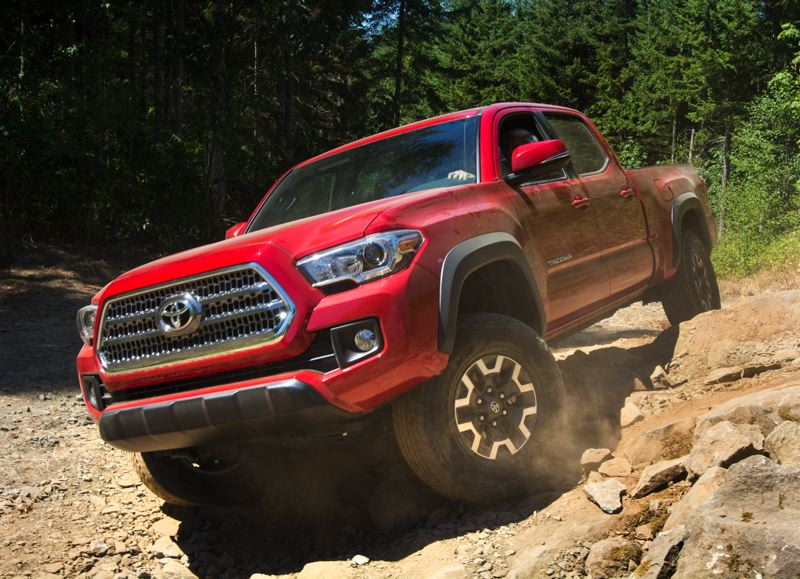 PORTLAND TRIBUNE: JOHN M. VINCENT - Compact and midsize pickups are making a comeback with new entries from Toyota, Chevrolet and GMC. The all-new 2016 Toyota Tacoma (pictured) is available in extended and crewcab models.