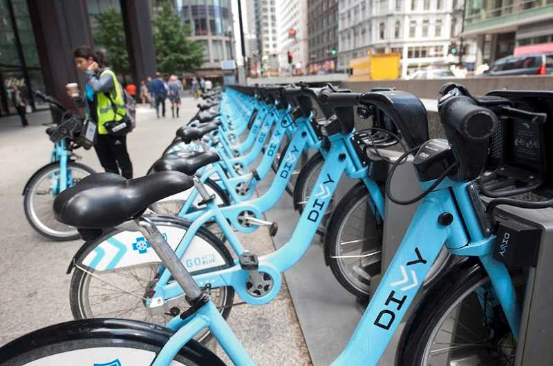 COURTESY: DIVVY BIKES  - Launched in 2013, Chicago's Divvy Bikes recently started a 'Divvy for Everyone' program to boost its diversity. The program offers $5 memberships, payable in cash, with proof of residency and low-income status. Those users now make up 3.5 percent of the system's 31,000 annual members.