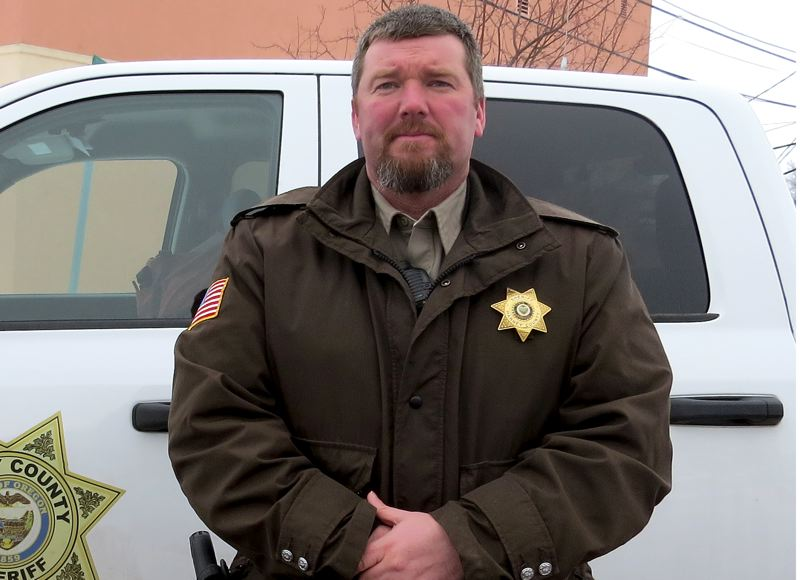 COURTESY OF HARNEY COUNTY SHERIFF'S OFFICE - Harney County Sheriff David Ward said the continued occupation of the wildlife refuge was 'tearing our community apart.'